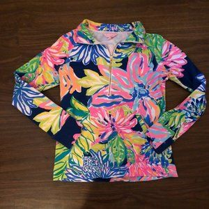 Lilly Pulitzer Travelers Palm Popover - XS